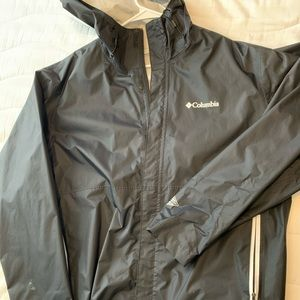 New Without Tags Columbia Rain Jacket XL